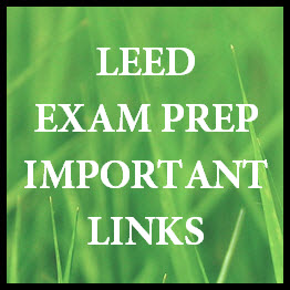 LEED EXAM LINKS